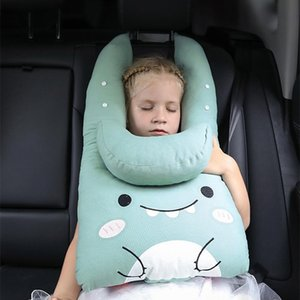Seat Cushions Adjustable Car Adult PP Cotton Headrest Creative Belt Side Reclining Child Travel Sleep U Shaped Neck Pillow 55