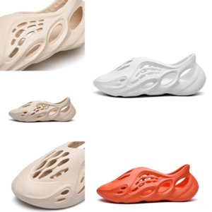 lokn4 новый бегун west тапочка мужская женщина дизайнерская косточка земля коричневый пустынный песчаный слайд слайд смола Смола мужские сандалии Kanye размер канье