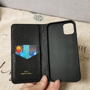 Coque de téléphone de mode pour iPhone 12Pro Max XS XR XSmax Couverture de téléphone de poche en cuir de caviar en cuir Embossé pour iPhone 11 Pro Max