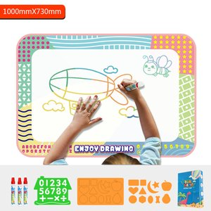 Can use repeatedly many times for 2 to 12 years old children develop water cushion color art
