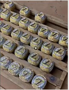 2020 Großhandel La Meisterschaft Ringe Lakers Fashion Fans Championship Geschenk Ringe Fan Männer Geschenk Großhandel Drop Shipping