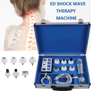 Pneumatic Shock Wave Therapy Equipment ShockWave Machine Eswt Physiotherapy Knee Back Pain Relief Cellulites Removal CE#022