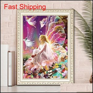 5d Needlework Diy Diamond Painting Diy Elf Girl Diamond Painting 5d Home Decoration Diamond Embroidery Cross Stit qylXcN hotclipper