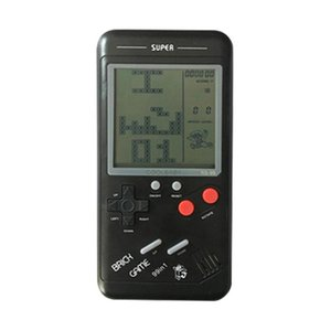 Portable Game Players EOENKK Retro Classic Childhood Tetris Handheld LCD Electronic Games Toys Console Riddle Educational