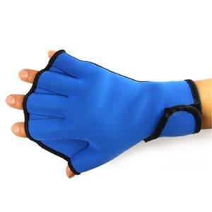 التمارين الرياضية المائية Aqua Jogger قفازات السباحة السباحة تصفح الغوص خزانة النيوبرين مجداف الأزرق في الهواء الطلق