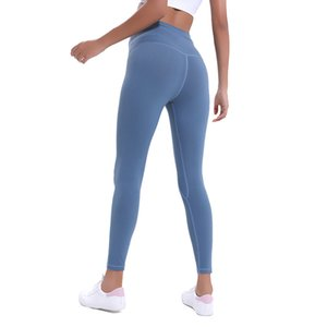 Women yoga pants fashion high waist align sports gym wear leggings elastic fitness womens overall full tights workout Sweatpants new
