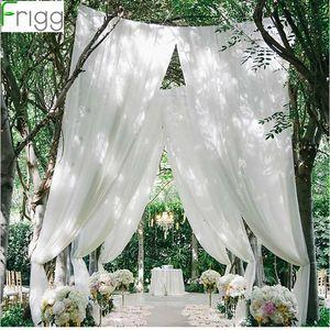 Frigg Organza Fabric Tulle Tutu Decorative Banquet Skirt Birthday Wedding Party Home Decor Table Decoration