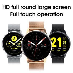 2020 New S30 Smart Watch Man ECG Heart Rate watches Body Temperature Sleep Monitor Waterproof Smartwatch for Android IOS For Buds Active2