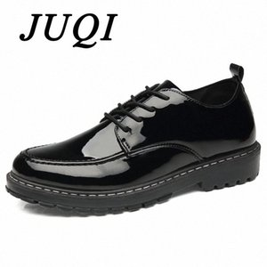 Homens sapatos lace up patente sapatos de couro homens vestido de casamento mariagem formal oxford para zapatos hombre vestir 94AX #