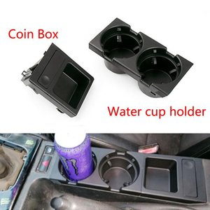 Drink Holder Car Center Console Water Cup Beverage Bottle Coin Box For 3 Series E46 318 320 325 330 1998-2008