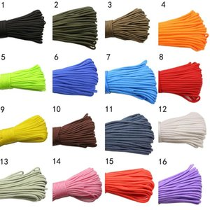 Outdoor Gadgets YINGTOUMAN 3PCS 31M 550 Paracord Parachute Cord Lanyard Tent Rope Mil Spec Type 7 Strand 4MM For Hiking Camping