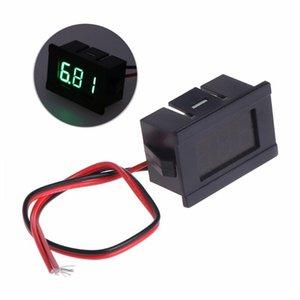 Voltage Meters DC 2 Wires 4.5-30V Mini LED Digital Display Voltmeter Volt Panel Meter Tester Tools