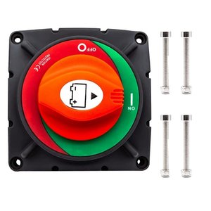 Parts RV Battery Disconnect Switch 12-48V 600A High Current Master Isolator Cut Off For Marine Boat,Ship,Yacht,RV,Truck