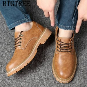 Chaussures Hommes Haute Qualité Hommes Chaussures Hommes Casual Hommes Hommes Cuir Peluche Tenis Tenis Masculino Adulto Sepatu Pria W7gy #