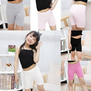 Kid Girl Safety Short Pants Elastic Baby Tight Pant Baby Girl Summer Pure Color Trousers Leggings