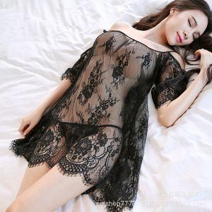 Ropa Xinze ropa interior de encaje Suspender Pajamas sexy Pijamas