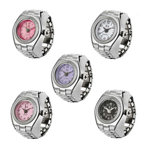 Fashion personality couple simple quartz watch ring j-008