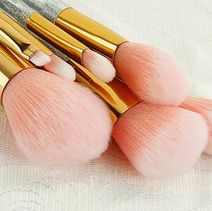 20sets 7Pcs Makeup Brushes Set Synthetic Hair Make Up Brushes Tools Cosmetic Foundation Brush Kits New