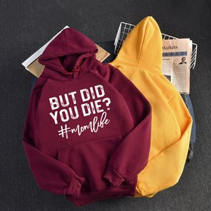 2021 New Women Hoodies Soft Autumn Hooded Top Oversize Letters Printed Pocket Sweatshirts Female Winter Cold Clothing QKZD