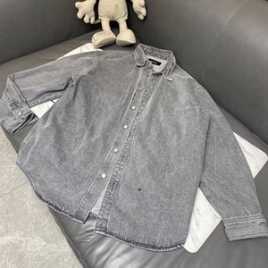 2021 новый We11Done NY Slim Denim Men Women Streetwear Welldone Cowboy мужская джинсовая куртка ZB6T