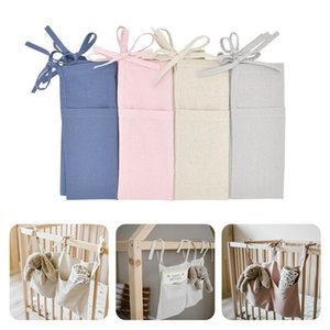 Baby Crib Organizer Diaper Toys Tissue Haning Organizer for Linen Bedside Hanging Storage Bag Diaper Pocket Bedding Set