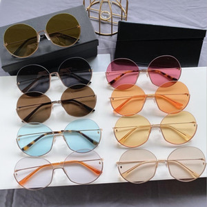 Unisex Round Fashion Sunglasses Men Oversized Polarized UV protection Woman Retro Pink Vintage Ladies Popular Party Classic Sun glasses