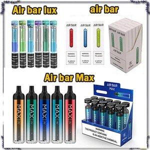 Air Bar Barra de ar Max Descartável Air Bar Bar Lux Vape Vape Pen Airbar 500Puffs 1.8ml PODS Cartucho Lux Vapor E Cigarros Kit de Vaporizadores