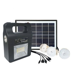 Solar Generator 10W Solar lighting system FM radio bluetooth Music player mobile power supply Factory Directory OEM and ODM service