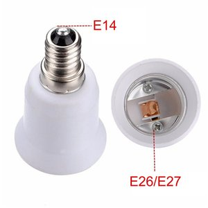 2021 New 5 10 Pces E14 E27 Bulb Base Adapter E12 for E26 and 27 Converter Ae20