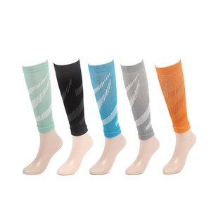 2pcs Sports Calf Brace Running Cycling Vélo Compression Manchons de veaux Élastic Leg Sharmer Legwarmers Dropshipping