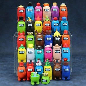 Among Us Action Figures Game Toys AMUS Car Decoration Dolls Christmas Birthday Gifts