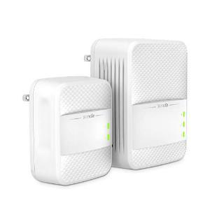 Tenda PH10 AV1000 Routers Powerline Wi-Fi Extender, Dual Band AC Wireless, Gigabit Port, Plug and Play