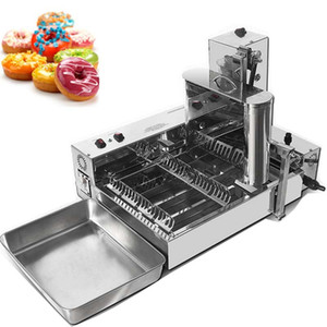 Commercial High Quality Hot Sale Commercial Automatic Donut Maker Single Row Mini Automatic Donut Machinecake donut machine