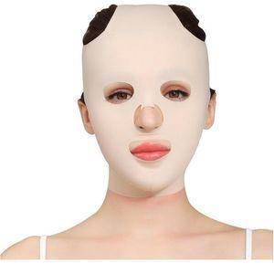 Máscara de elevación de la cara reutilizable 3D Anti arruga Adelgazante vendaje V Shaper Full Face Lift Slim Durming Face Mask Beauty Br Jlllfi