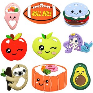 Baby Teether Silicone Soothers Toy Nursing Training Chewing Animal Comforter Funny Teethe Cartoon
