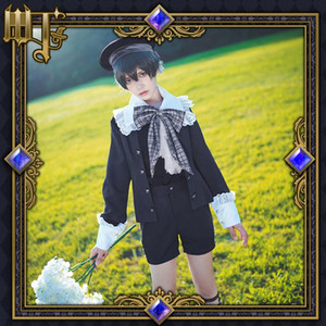 Anime Black Butler Cos Ciel Phantomhive Cosplay costume male Cosplay Halloween Party