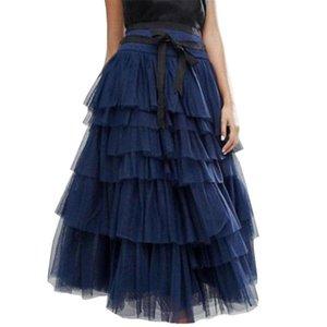 Skirts Sexy Skirt Women High Waist Lace Long Streetwear Solid For Party Clubwear Summer Falda Larga