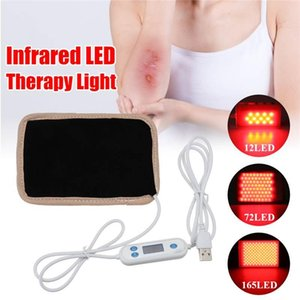 12 72 165LED USB Infrared LED Therapy Pad Light 630nm-660nm Deep Penetration For Pain Relief Safe Aids Healing Circulation