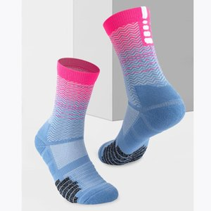 Men's Socks Classic Basketball Thick Towel Bottom Sports Contest Breathable Weat-absorbent Stylish Leisure Comfortable