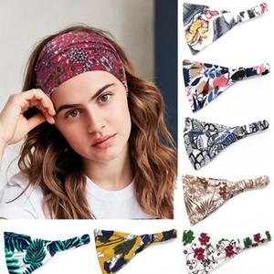 New Women Wide Sports Yoga Headband Stretch Hairband Colourful Elastic Hairband Running Turban Head Wrap Sciarpa Capelli ACC JLLZFB