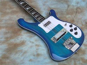 custom electric bass guitar, 4 Strings Neck Thru Body BassGuitar