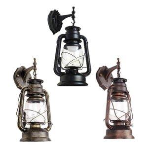 Настенная лампа E27 ретро античный винтажный деревенский фонарик Sconce светлый светильник в помещении открытый