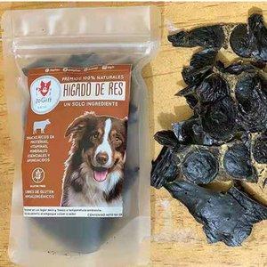Premios Naturales para perros - Hígado Deshidratado de res, 50 grs?125pcs?