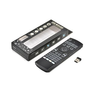 ZL MX3-L Air Mouse Arka Işık MX3-L Kablosuz Klavye 2.4g Uzaktan Kumanda IR Android TV Kutusu için IR Öğrenme Hava Fare PC