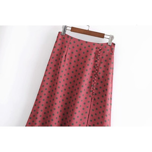 new Topies 2021 sexy split points female summer skirts 71BG