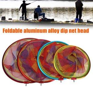 Yüksek Kaliteli Katlanabilir Alüminyum Alaşım Balıkçılık Net Büyük Hafif Güçlü Yük Taşıyan Balıkçılık Net Dog88