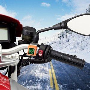 دراجة نارية التدفئة الكهربائية دفئا المقود ساخنة مصبوب القبضات تدفئة دراجة نارية التدفئة مقبض ساخنة القبضات مجموعة أجزاء السيارات