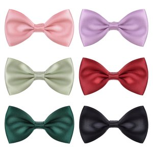 Mode 6 Farben Baby Kinder Mädchen Barrettes Bowknot Haarnadeln Kinder Haarspangen Hairclips Haar Bögen Haarschmuck