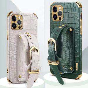 Porte-casse à portefeuille de portefeuille de portefeuille pour iPhone 12 11 PRO Max XS XS XS XS Max Détail