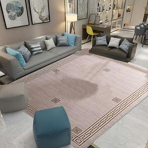 Meubles à domicile Tapis à rayures géométriques Tapis à branches Tapis de sol de grande taille Fournisseur de tapis d'impression irrégulier